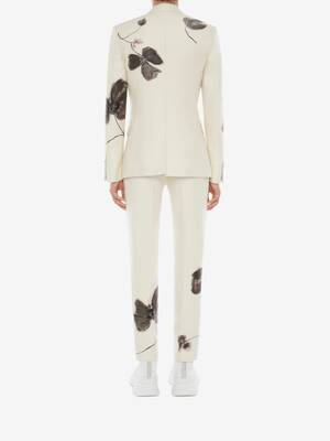 Camo Ink Floral Jacquard Jacket