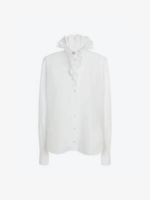 Ruffles Collar Shirt
