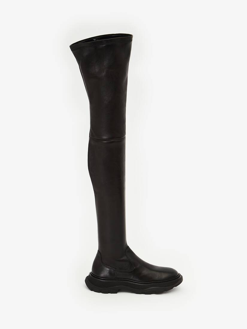 Thigh-High Tread Boot