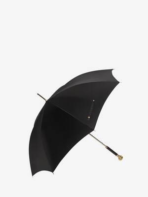 Total Gold Skull Umbrella