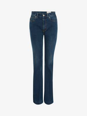 Narrow Bootcut Denim Trouser