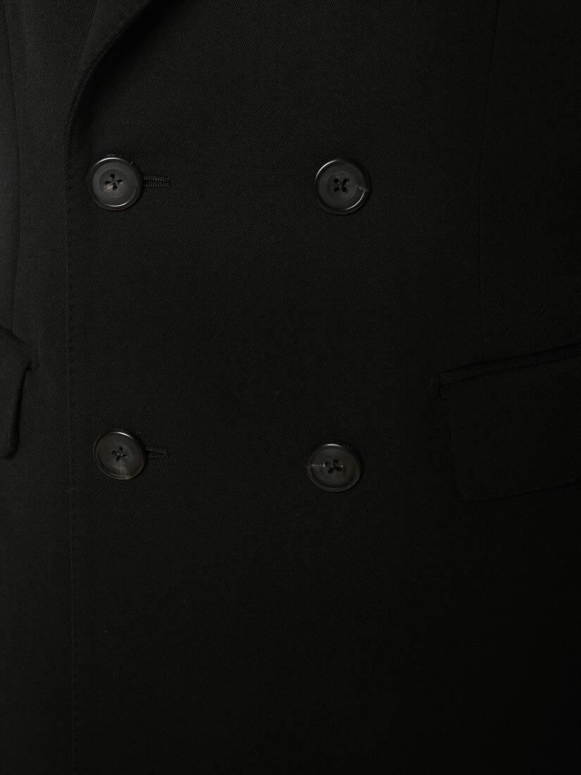 McQueen Graffiti Hybrid Coat