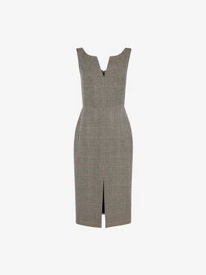 Prince of Wales Pencil Dress