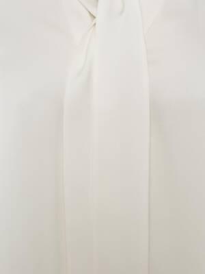Satin Bow Shirt