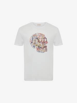 런던 스컬 티셔츠
