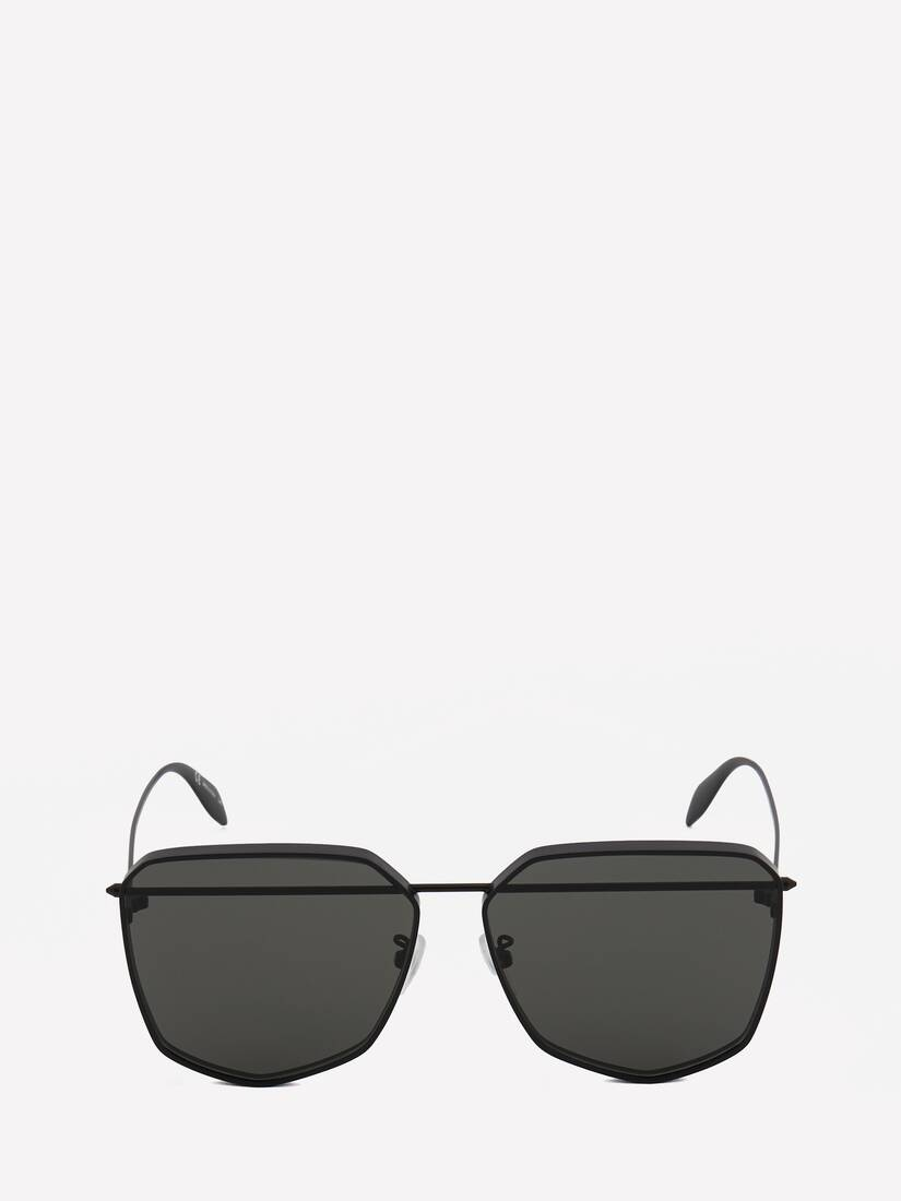 Display a large version of the product image 1 - Piercing Shield Metal Sunglasses