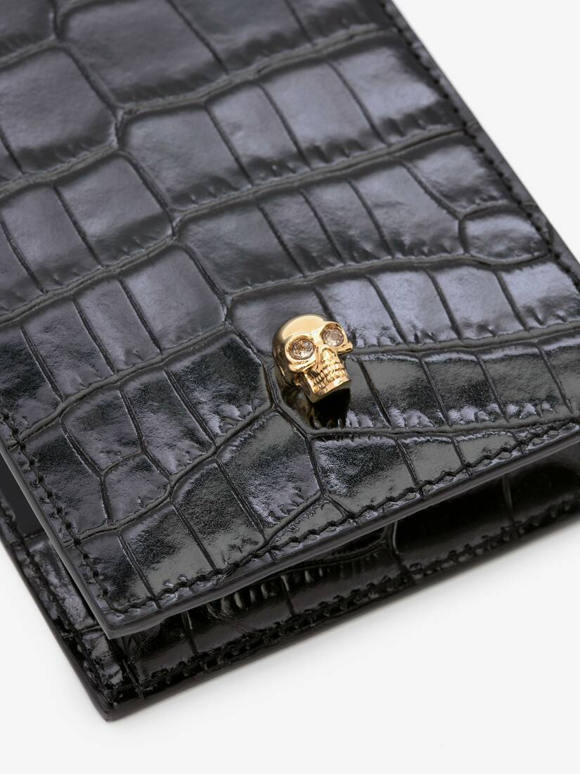 Display a large version of the product image 5 - Skull Phone Case with Chain