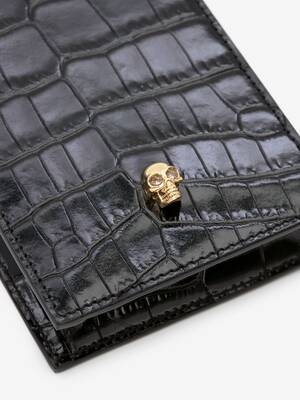 Skull Phone Case with Chain