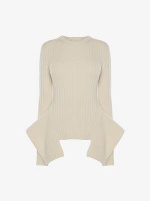 Engineered Cable knit Jumper