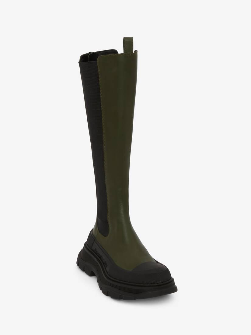 Tread Slick Knee High Boot