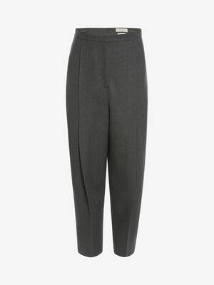 Cavalry Wool Oversize Peg Trouser
