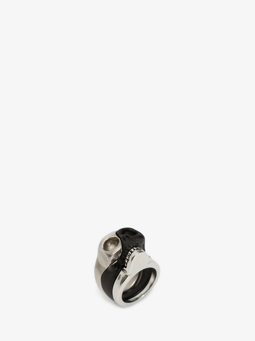 Display a large version of the product image 2 - Divided Skull Ring