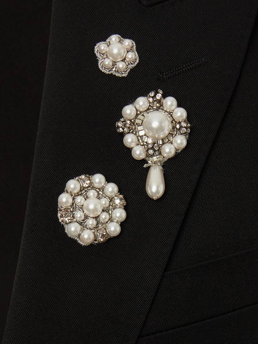 Veste brodée en perles