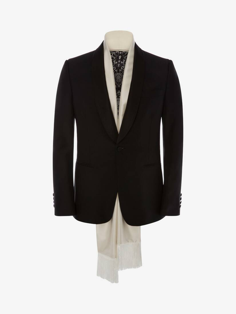 Display a large version of the product image 1 - Evening Scarf Tuxedo Jacket