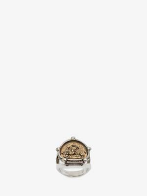 Lucky Medallion Ring