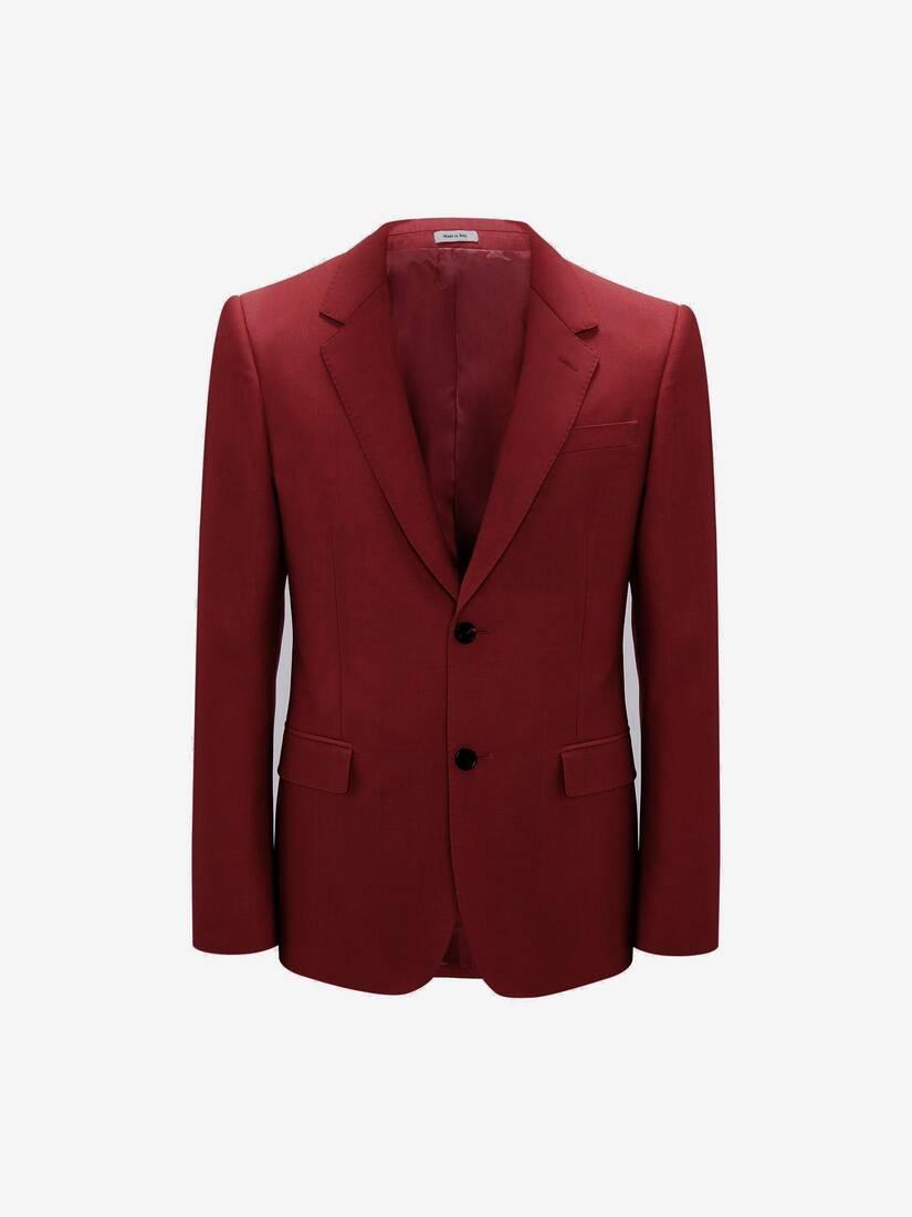 Wool Mohair Jacket