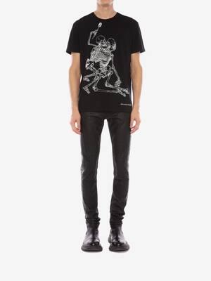 ラバーズ スケルトン Tシャツ