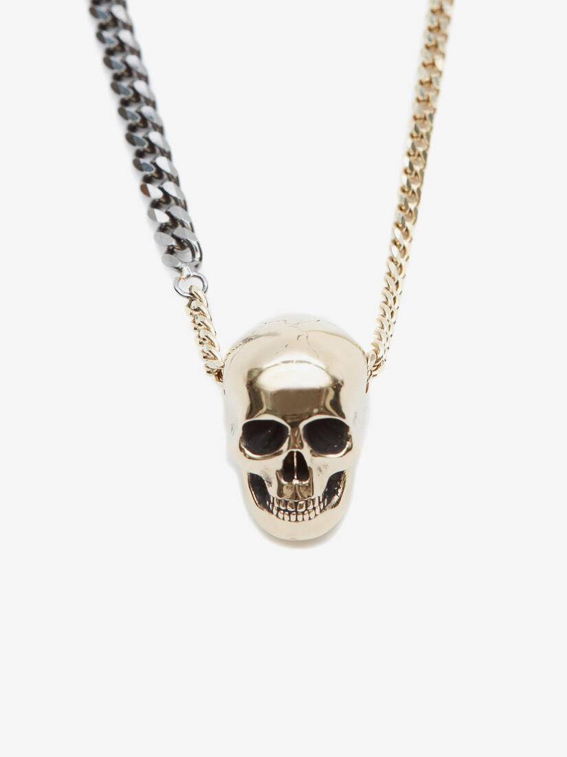 Display a large version of the product image 2 - Chain Skull Necklace