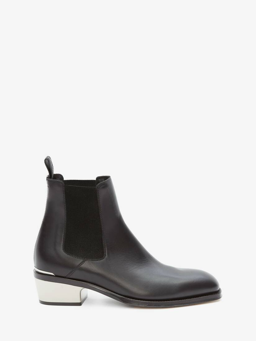 Display a large version of the product image 1 - Metal Heel Chelsea Boot