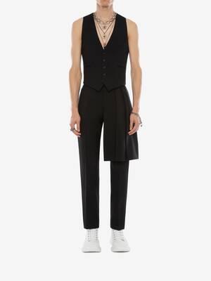 Wool Kilt Trousers