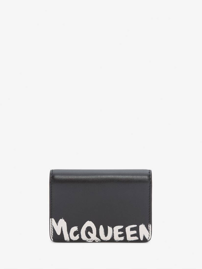 Display a large version of the product image 1 - McQueen Graffiti Business Card Holder