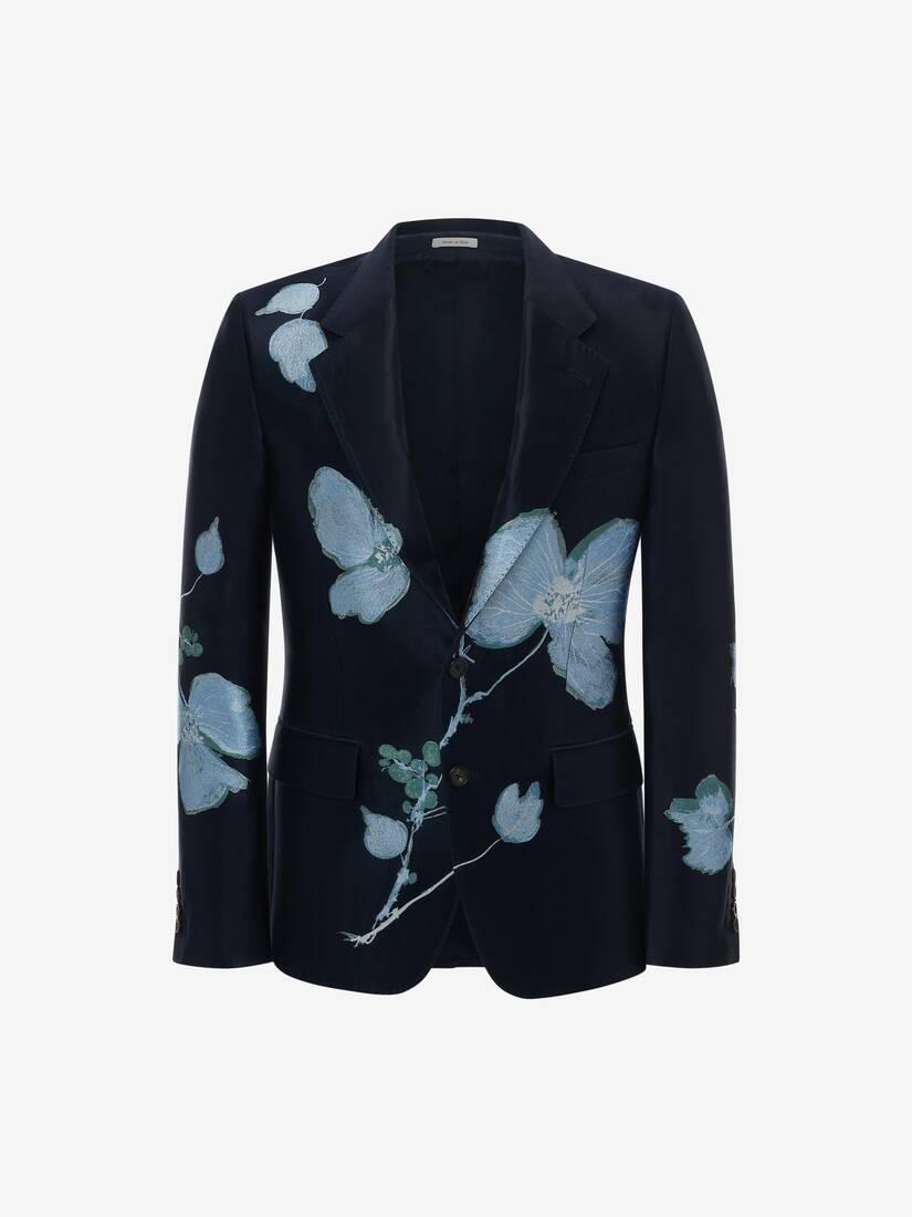 Camo Ink Floral Jacket