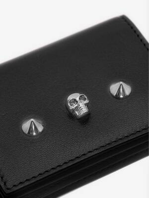 Skull Card Holder on Chain