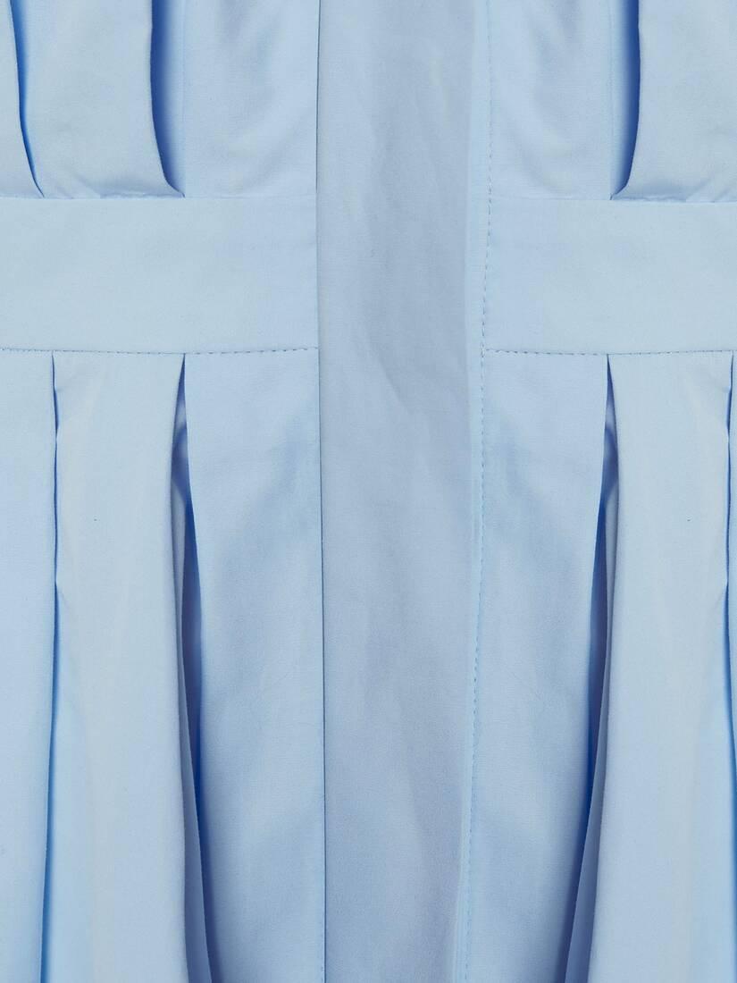 Cocoon Sleeve Midi Shirt Dress