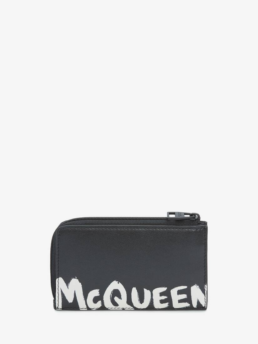 Display a large version of the product image 1 - McQueen Graffiti Large Zip Coin Card Holder