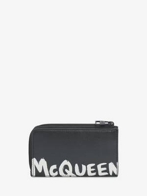 Porte-monnaie zippé McQueen Graffiti