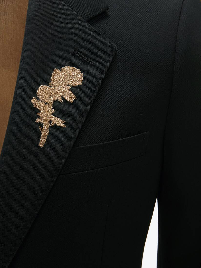 Gold Thistle Embroidered Jacket