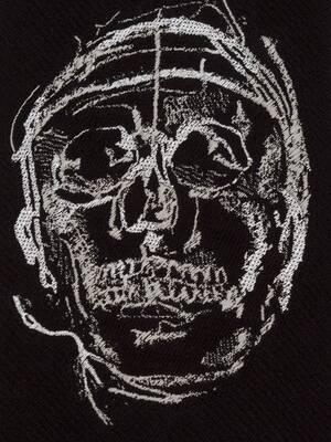 Cravate Painted Skull