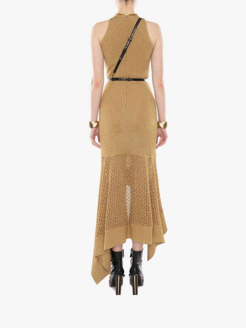 Display a large version of the product image 4 - Mesh Knit Midi Dress