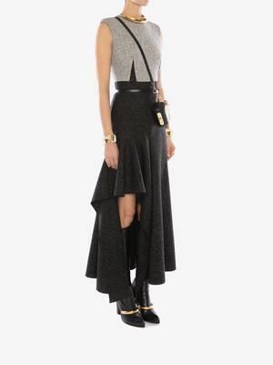 Donegal Drape Midi Dress