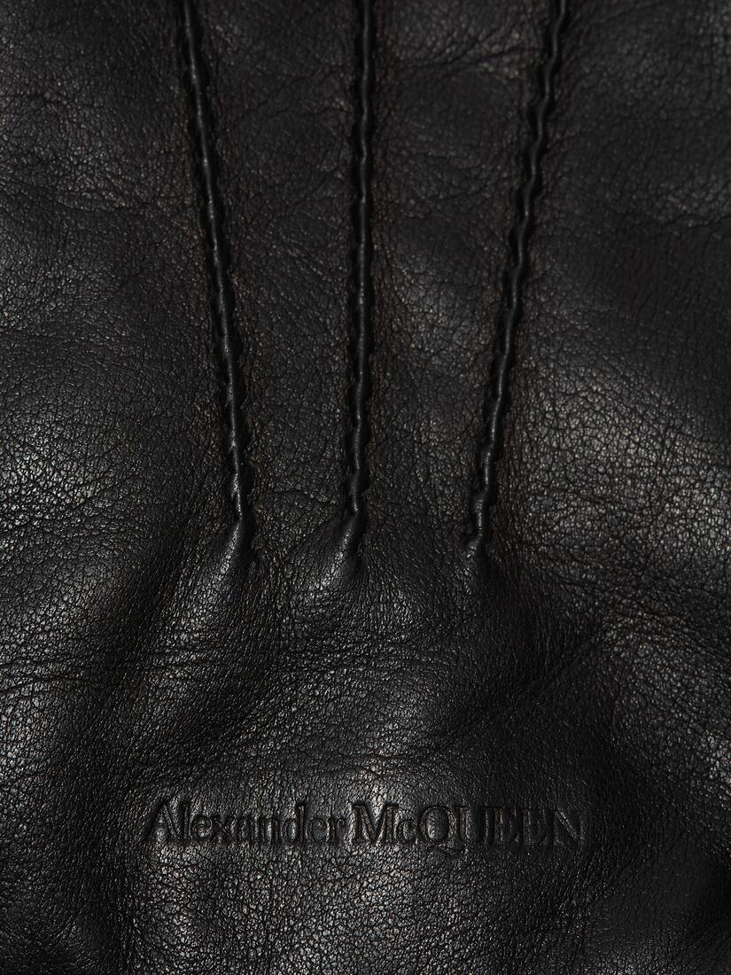 Display a large version of the product image 3 - Leather Gloves