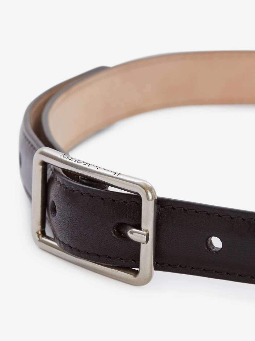 Display a large version of the product image 3 - Thin Geometric Belt