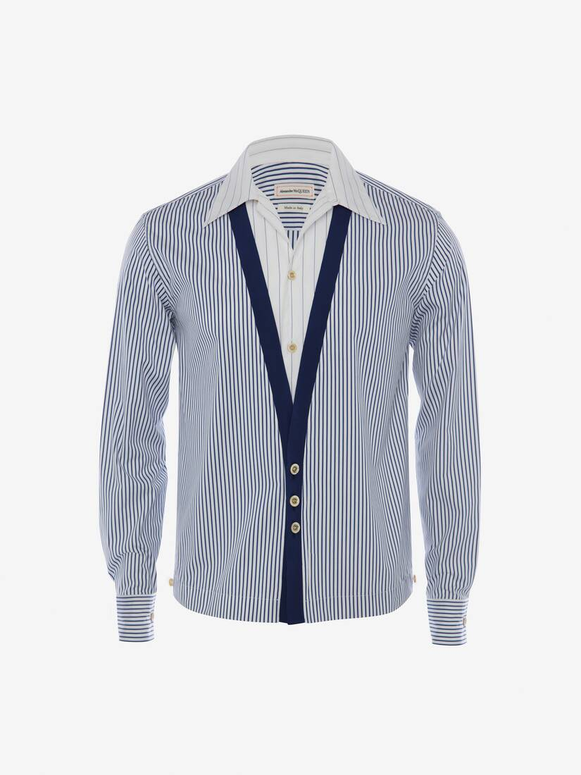 Display a large version of the product image 5 - Trompe-l'œil Stripe Shirt