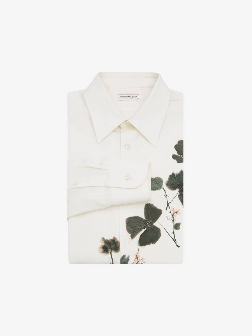 Display a large version of the product image 1 - Camicia Ink Floral