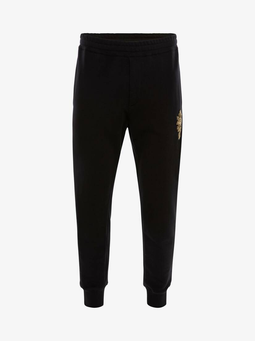 Display a large version of the product image 1 - Crystal Embroidered Sweatpants