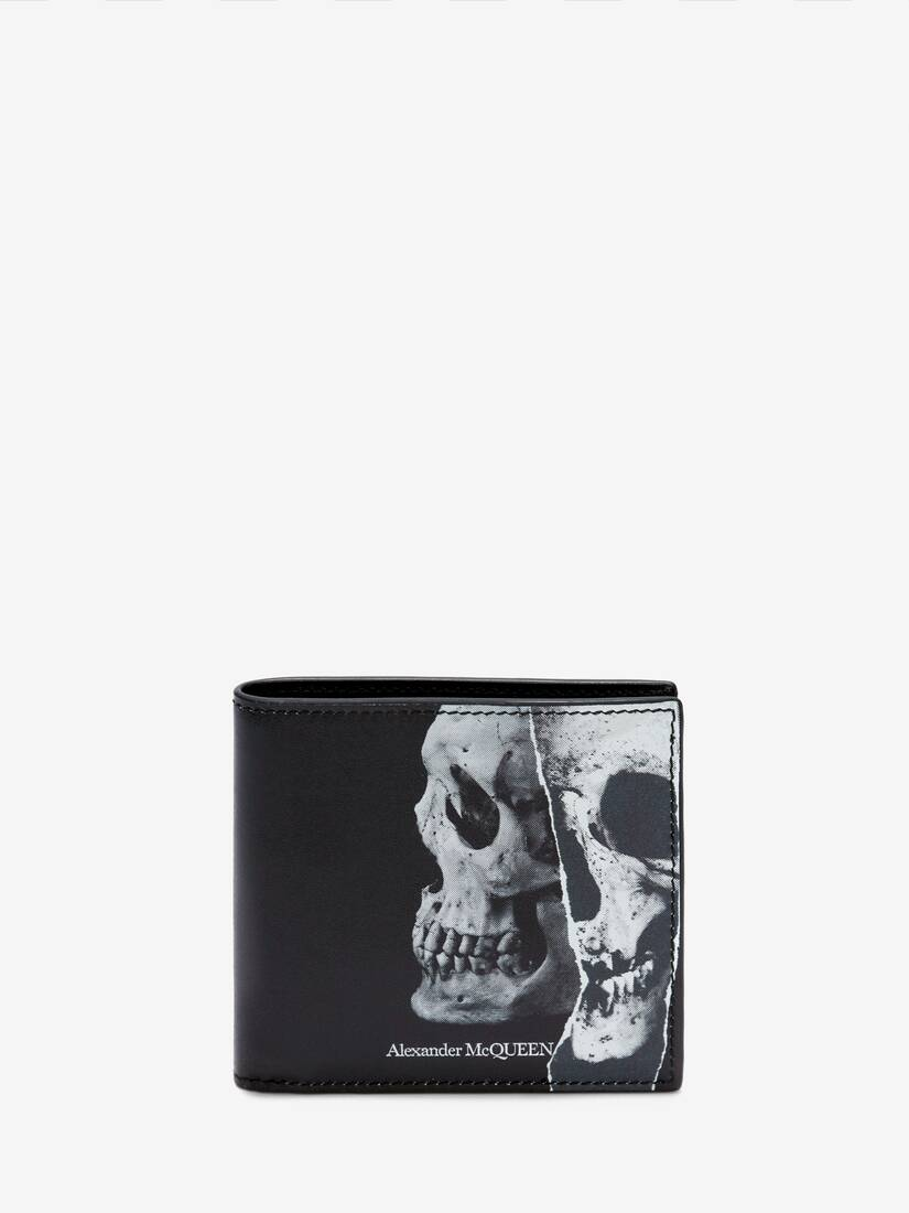 Display a large version of the product image 1 - Torn Skull Billfold Wallet