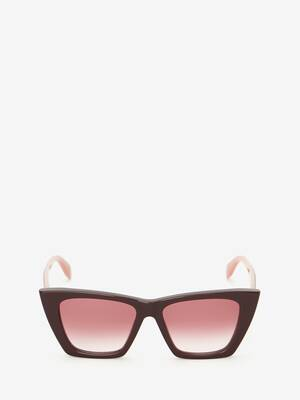 Selvedge Cat-Eye Sunglasses