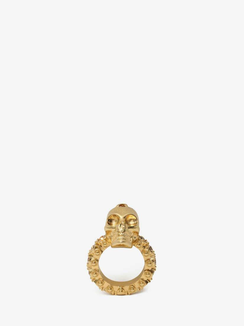 Display a large version of the product image 1 - Anello Skull con Cristalli