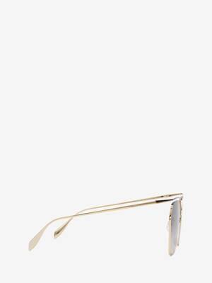 The Cut Square Sunglasses