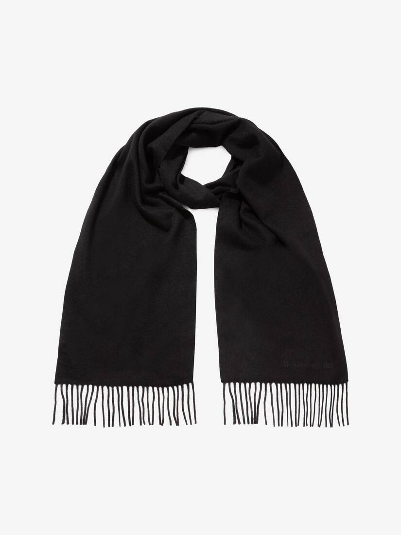 Display a large version of the product image 3 - Alexander McQueen Cashmere Scarf