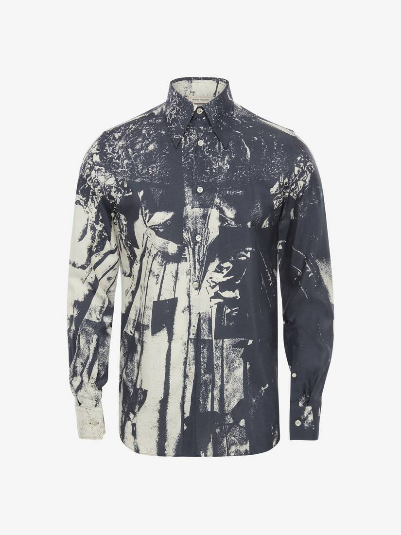 Display a large version of the product image 5 - Trompe-l'œil Printed Shirt