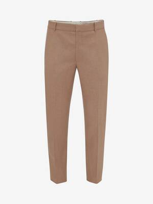 Camel Felt Cigarette Trousers