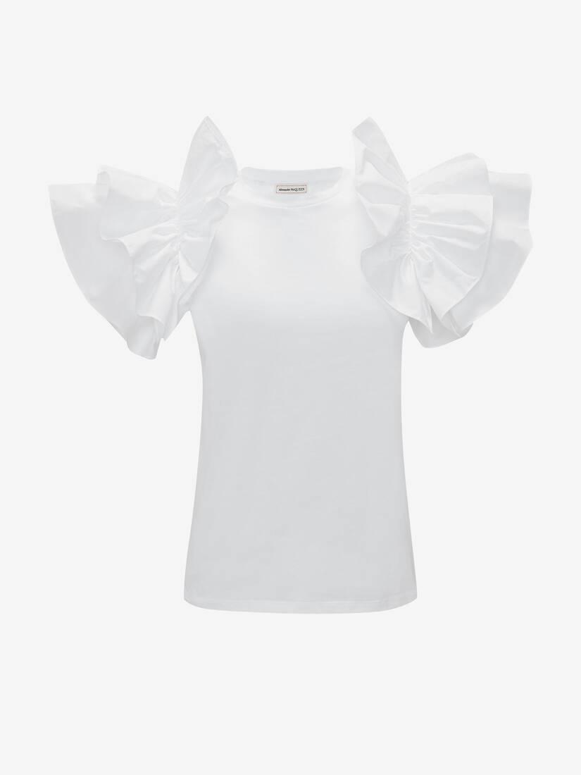 Bow Sleeve T-Shirt