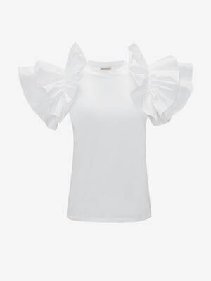 Bow Sleeve T-Shirt