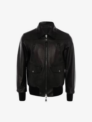 Bomber in Pelle Reversibile