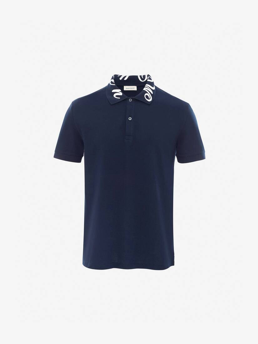 Display a large version of the product image 1 - McQueen Embroidery Polo Shirt